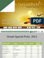 Diwali Special Picks - 2013 RELIGARE.pdf