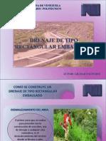 Drenaje de Tipo Rectangular Embaulado- Gilmar Valverde