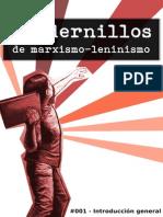 Cuadernillos de marxismo-leninismo - #001 [FRML].pdf