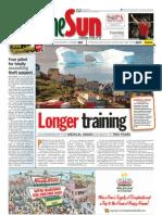 thesun 2009-08-04 page01 longer training
