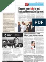 thesun 2009-08-05 page04 demonstrations a total failure says hishammuddin