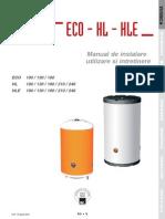 Carte Tehnica ACV HL +HLE