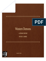 WESTERN DEMONS A Literary History By Kyle T. Cobb Jr.