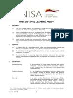 UNISA ODL Policy Copy