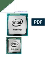 La tercera generación de procesadores Core i3