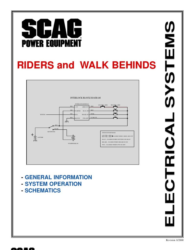 Scag_Electrical | Switch | Electric Current | Turf Tiger Scag Wiring Diagram |  | Scribd