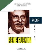 guenon- Sobre Kabala y Judaismo.pdf