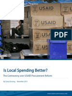 Is Local Spending Better?