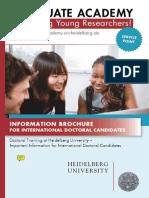 PhD information brochure for Heidelberg, .pdf