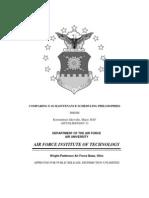 F-16 maintenance scheduling philosophy