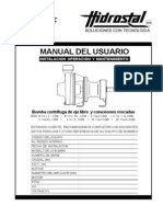 Manual Usuario Bomba Centrif Manual -Hidrostal