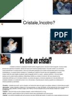 Chimie cristalele proiect.pps
