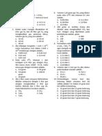 Tugas Sp Kimia Dasar Stoikiometri