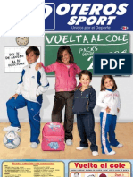 Catálogo Oteros Sport Vuelta al Cole '09