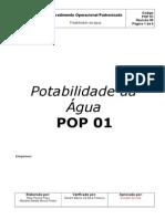 Correto POP potabilidade da água 2013