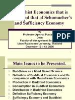 Buddhist economics beyond Schumacher