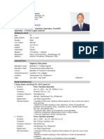 Resume With Picture