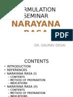 Formulation Seminar Narayana Rasa
