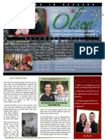 Olsen Newsletter December 2012