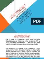 Diapositivas de Empirismo