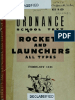 OS 969 Rockets and Launchers-All types