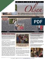 Olsen Newsletter October 2012