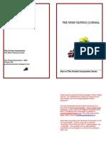 Pocket Sommelier Wine Tasting Note Journal