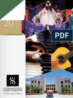 Manual de Admisiones del Conservatorio de Música de Puerto Rico - Año Académico 2014-2015