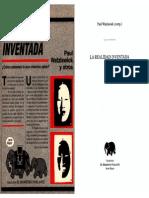 [Paul Watzlawick y otros] La realidad inventada ¿Cómo sabemos lo que creemos saber¿.pdf