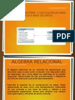Algebra Relacional y Calculo Relacional Con Referencia A