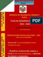 Expo Plan de Desarrollo Urbano