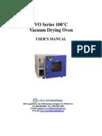 Across 100C VO Vacuum Oven Manual-1