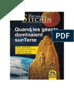 Quand les géants dominaient sur Terre - Zecharia Sitchin.pdf