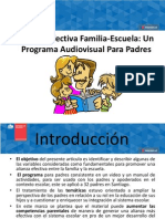 Alianza Efectiva Familia-Escuela.2013