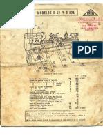 Manual Torno Pia g52 - g52a