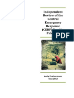 Independent review of the Central Emergency Response Fund (CERF) in Pakistan