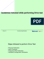 Drive Test Procedure.ppt