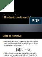 3. Gauss Seidel