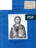 (Sfantul Teofilact Al Bulgariei Talcuire La Evanghelia de La Ioan