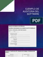 Ejemplo de Auditoria Del Software