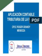 Aplicación Contable Tributaria de la Nic 16 (Perú) 5.5-