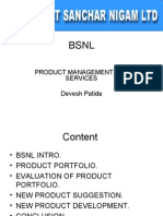 Product Management for Services Devesh Patida