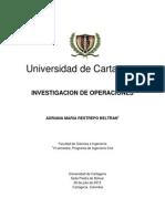 Investigacion de Operaciones Generalidades
