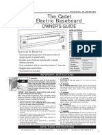 Cadet Electric Baseboard.heater