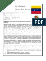 Postura Venezuela