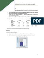 Ejercicios de Estadistica Descriptiva Univariada