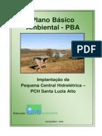 PBA - PCH Santa Luzia Alto
