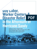 Day Labor, Worker Centers & Disaster Relief Work in the Aftermath of Hurricane Sandy