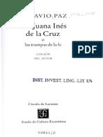 Paz Sor Juana