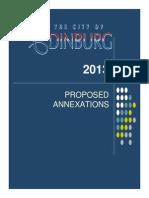 2013 Edinburg Annex Citizen Presentation